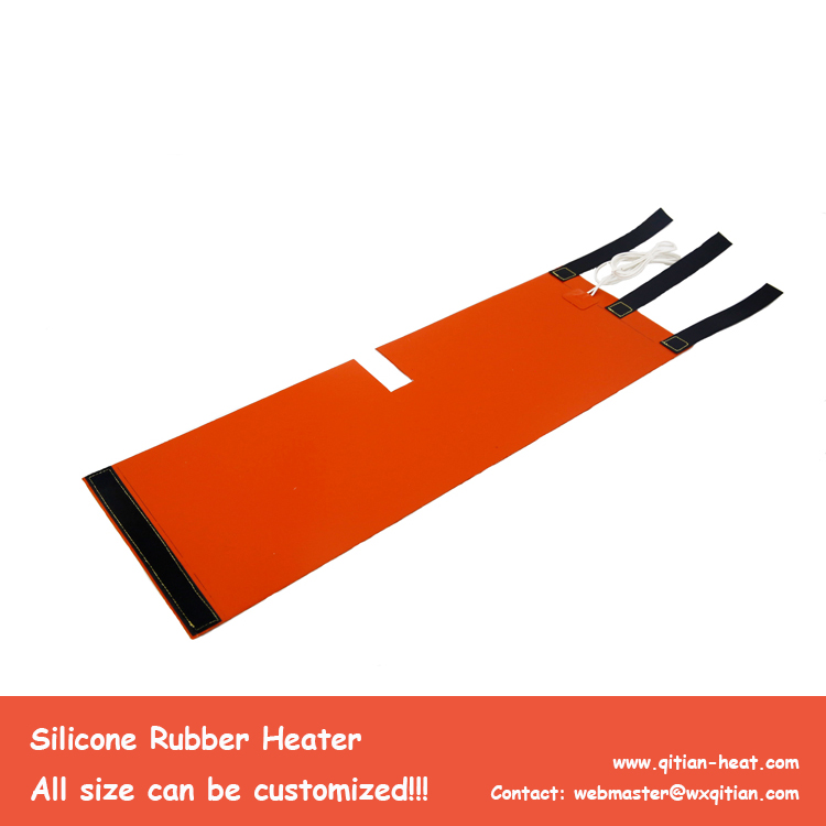 Silicone Heater Velcro Strips