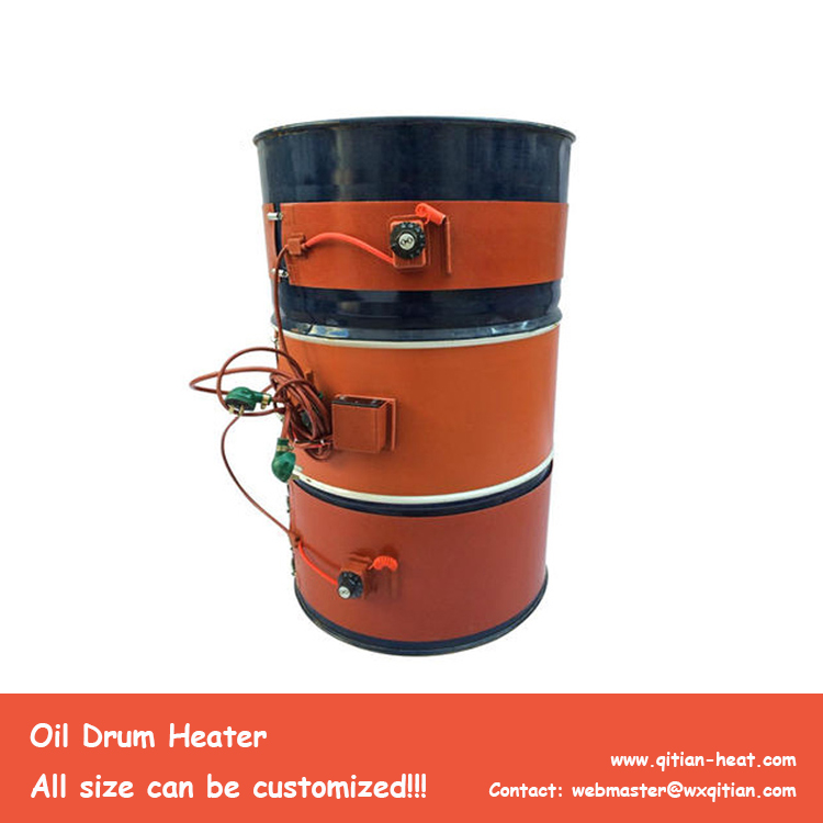 900x250mm Oil Drum Heater