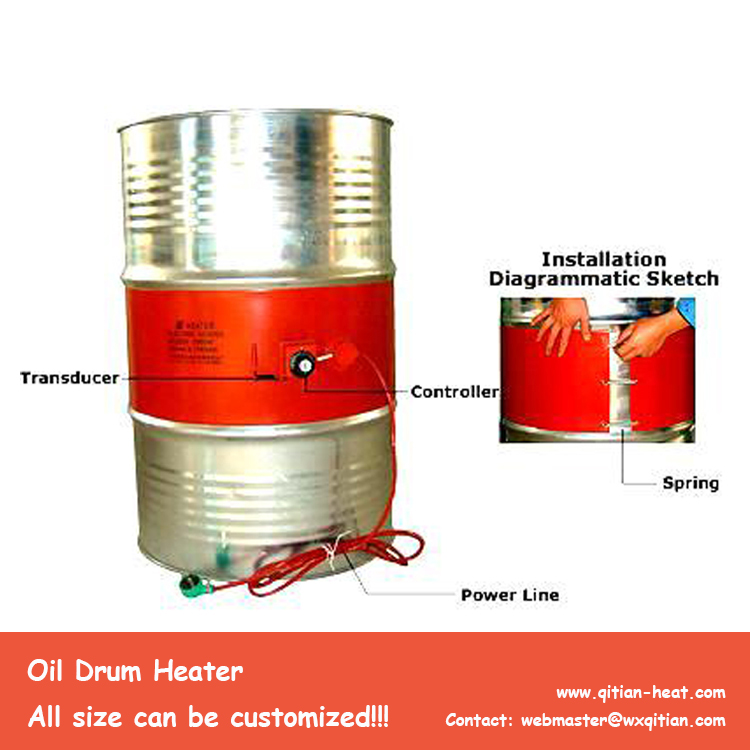 110V/220V Oil Drum Heater
