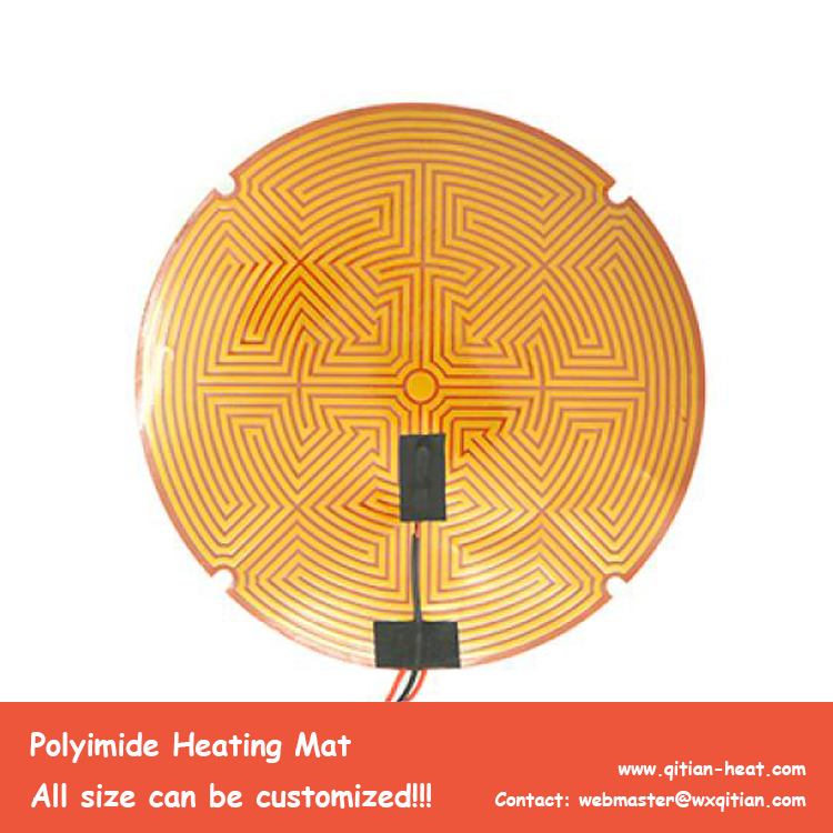 Diameter 200mm 3d printer heating pad