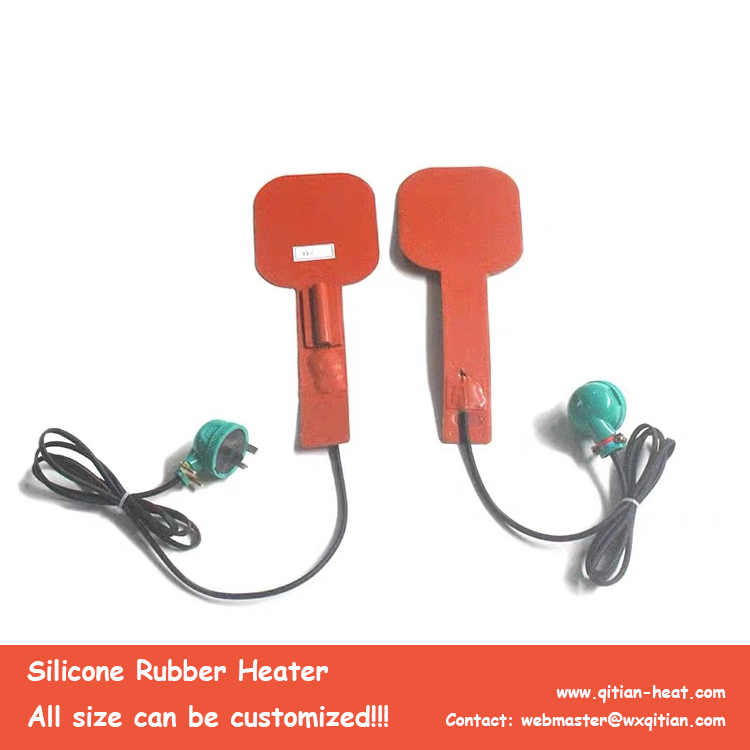 Special Shape Silicone Heater