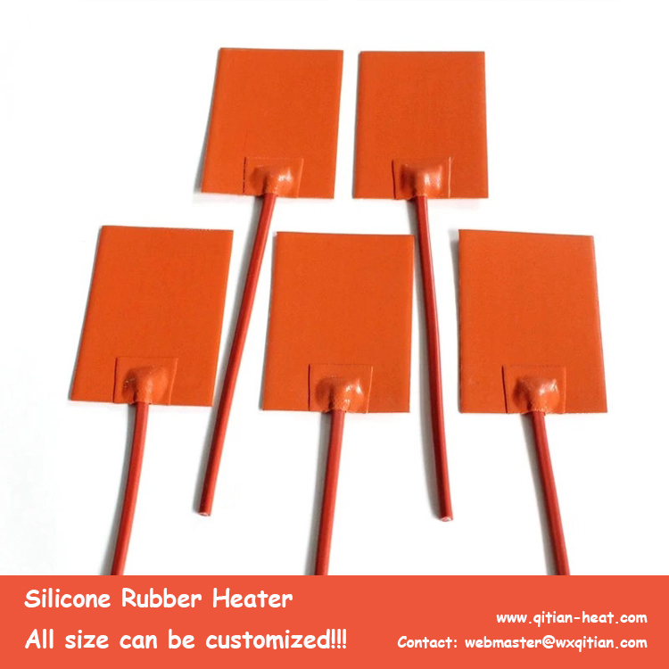 100x50mm Silicone Heater