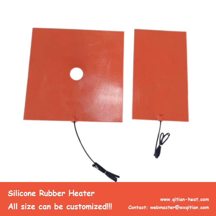 Silicone Heater With Hole