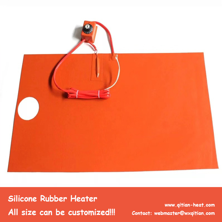 Surface Mounted Silicone Heater