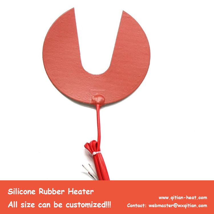 Special Round Silicone Heater