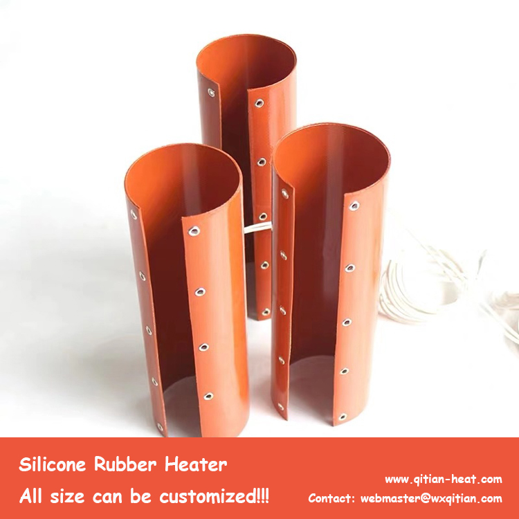 Cylinder Silicone Heater