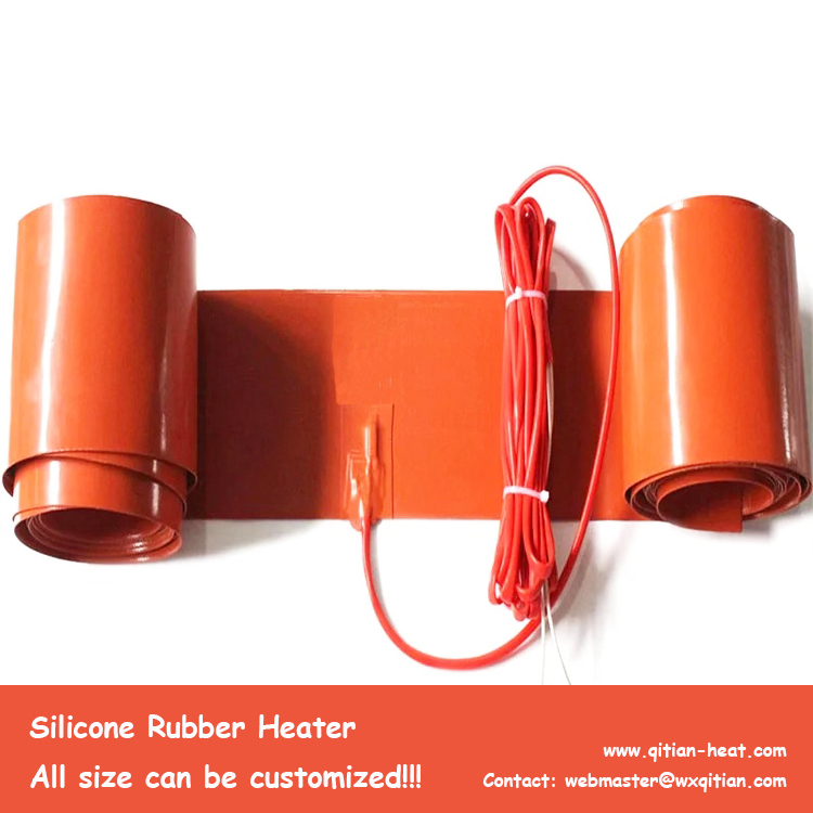 Long Silicone Heating Strip