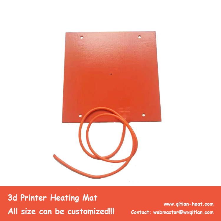 Customized 3d Printer Heater With Holes