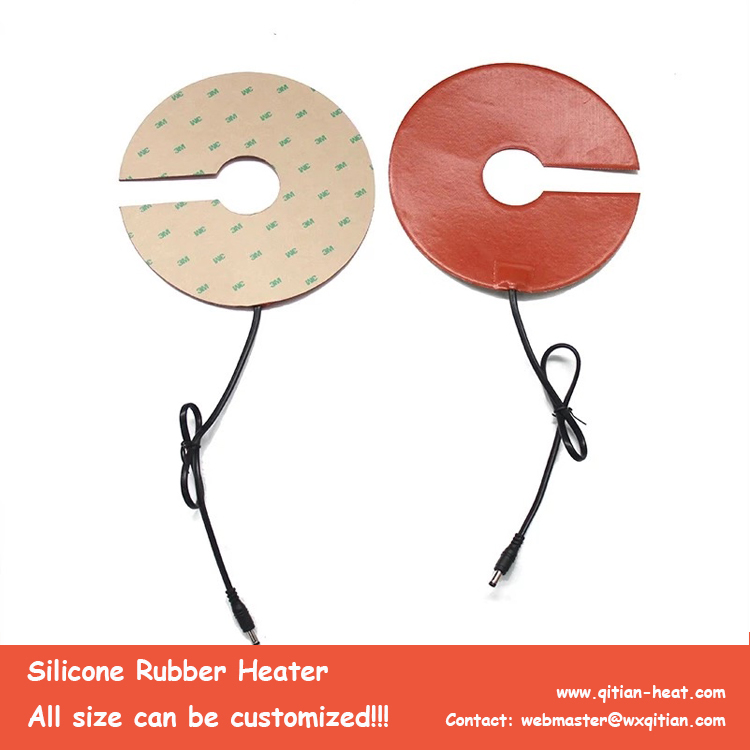 Round Silicone Heater For Beer Tank