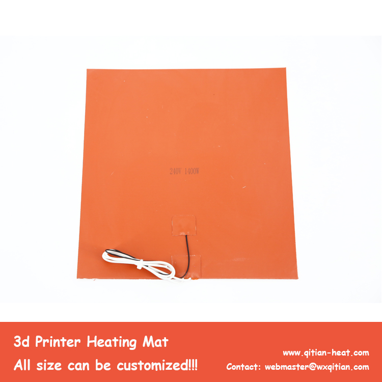 240V 1000W 3d printer Heating Mat